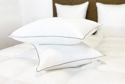 Taie d'oreiller percale de coton 55x75 cm blanc des Vosges