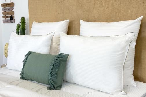 Taie Extra Large coton blanc des Vosges