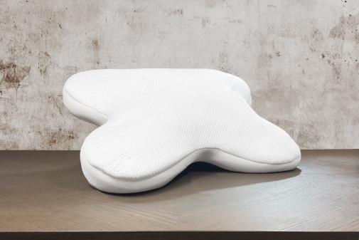 Taie d'oreiller satin de coton 60x40cm blanc des Vosges