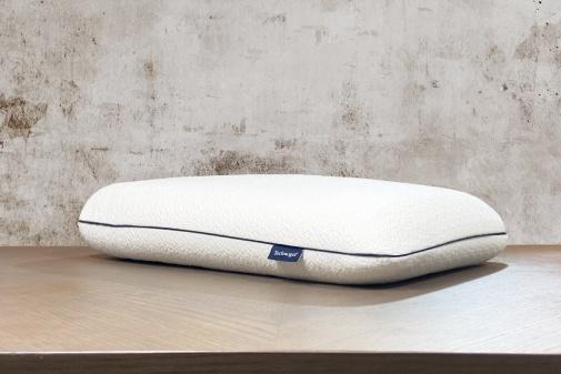 Taie d'oreiller percale blanche blanc des Vosges